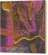 Magenta Joy Wood Print