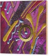 Magenta Joy Dreams Wood Print