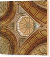 Magestic Architecture II Wood Print