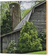 Maggie Valley Barn Wood Print