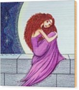 Maggie's Lullaby Wood Print