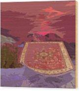 Magic Carpet Ride Wood Print