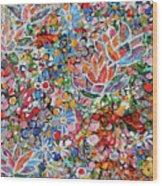 Magic Color Garden 201757 Wood Print