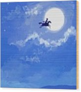 Magic Horse Wood Print