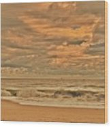 Magic In The Air - Jersey Shore Wood Print