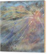 Magic In The Skies Wood Print
