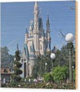 Magic Kingdom Castle Wood Print