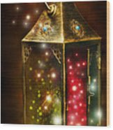 Magic Lantern Wood Print