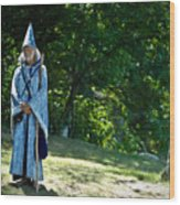 Magic Man Wood Print