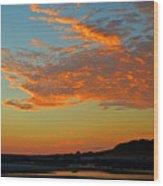 Magic Moments Over Cape Cod Bay Wood Print