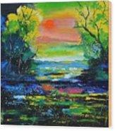 Magic Pond 765170 Wood Print