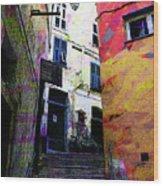 Magic Stairway Wood Print