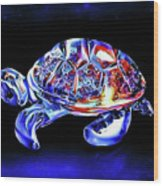Magic Turtle Wood Print