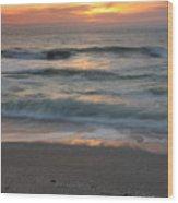 Magical Captiva Beach Sunset Wood Print