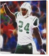 Magical Darrelle Revis Wood Print by Paul Van Scott