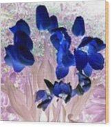 Magical Flower I I Wood Print