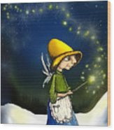 Magical Hope Wood Print by Hank Nunes