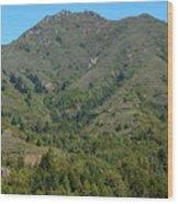 Magical Mountain Tamalpais Wood Print