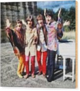 Magical Mystery Tour, The Beatles Wood Print