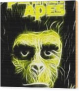 Magical Planet Of The Apes Wood Print