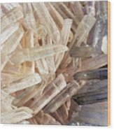 Magical Sparkly Crystals Wood Print