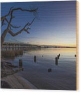 Magical Sunset II Wood Print