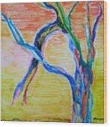 Magical Tree Wood Print