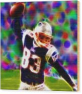 Magical Wes Welker  Wood Print