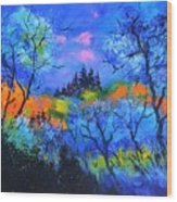 Magis Forest Wood Print