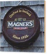 Magners Irish Cider Sign Wood Print