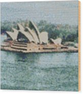 Magnificent Sydney Opera House Wood Print