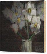 Magnolia 1 Wood Print