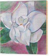 Magnolia 2 Wood Print