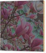 Magnolia Beauty Wood Print