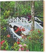 Magnolia Bridge Wood Print