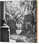 Magnolia Cemetery 75 Wood Print