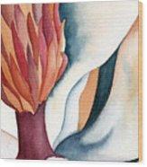 Magnolia Close-up I Wood Print