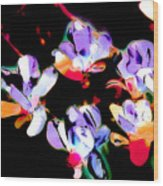 Magnolia Impressions Wood Print