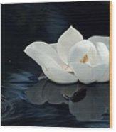 Magnolia Wood Print by Kendra Longfellow
