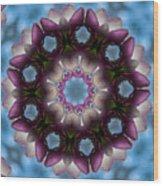 Magnolia Mandala Wood Print
