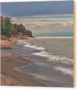 Magoon Creek South Wood Print