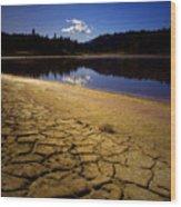 Mahoney Lake Wood Print