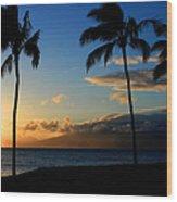 Mai Ka Aina Mai Ke Kai Kaanapali Maui Hawaii Wood Print