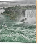Maid Of The Mist 8971 Wood Print