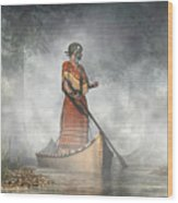 Maid Of The Mists Wood Print