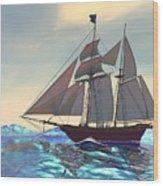 Maiden Voyage Wood Print