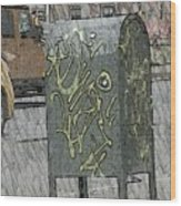 Mailbox Harlem Wood Print