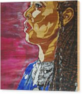 Maimouna Youssef Wood Print