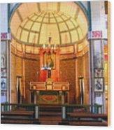 Main Altar Sacre Couer  Wood Print