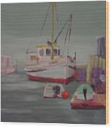 Main Boat 1 Wood Print
